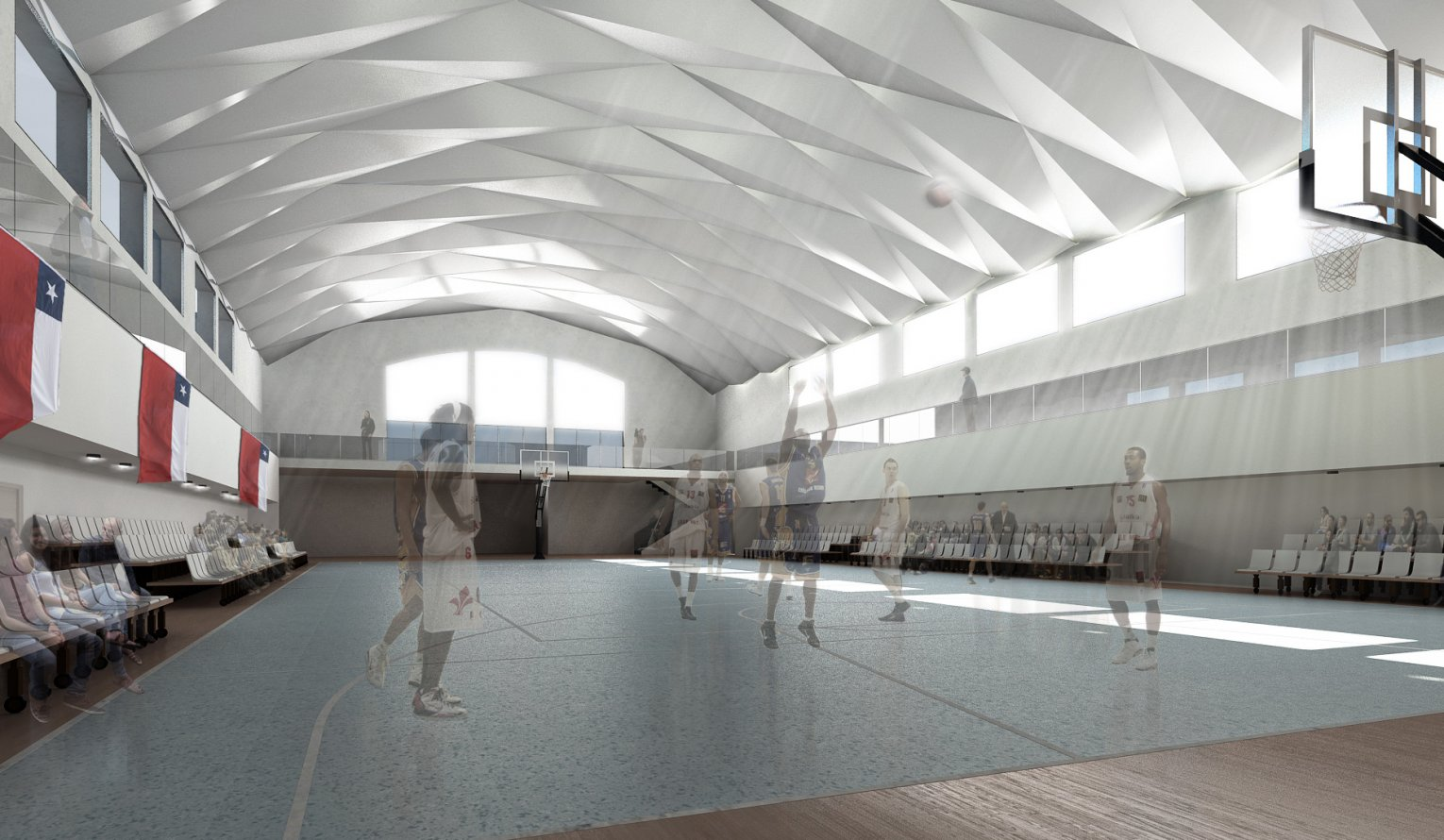 Restoration and addition of value to Schwager Gym