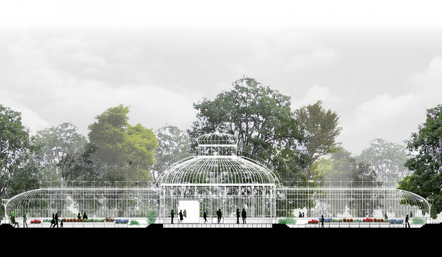 Restoration of the Quinta Normal Greenhouse