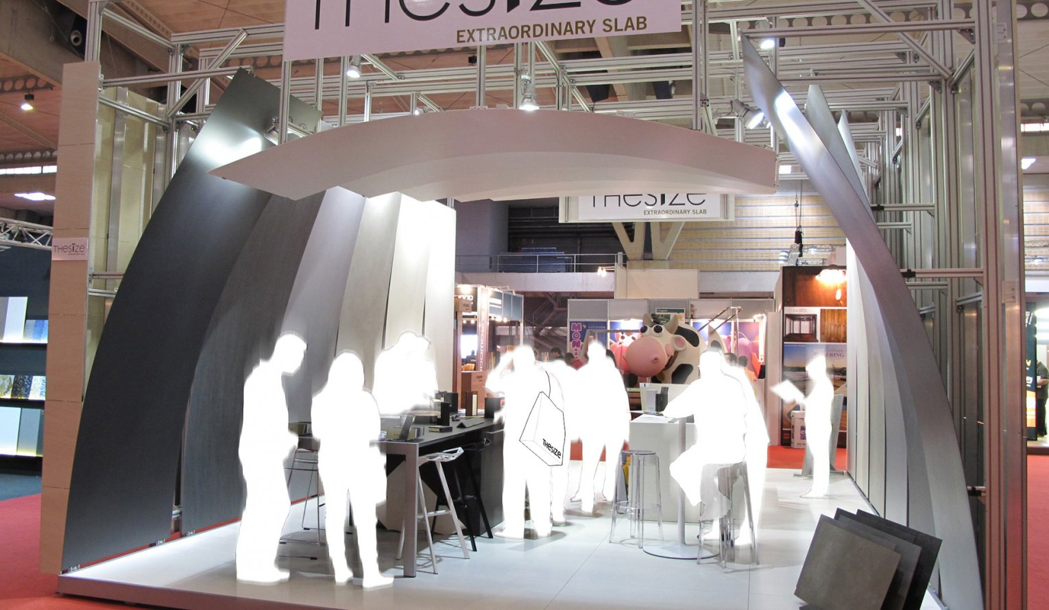 """The Size"" Stand, Construmat 2011"