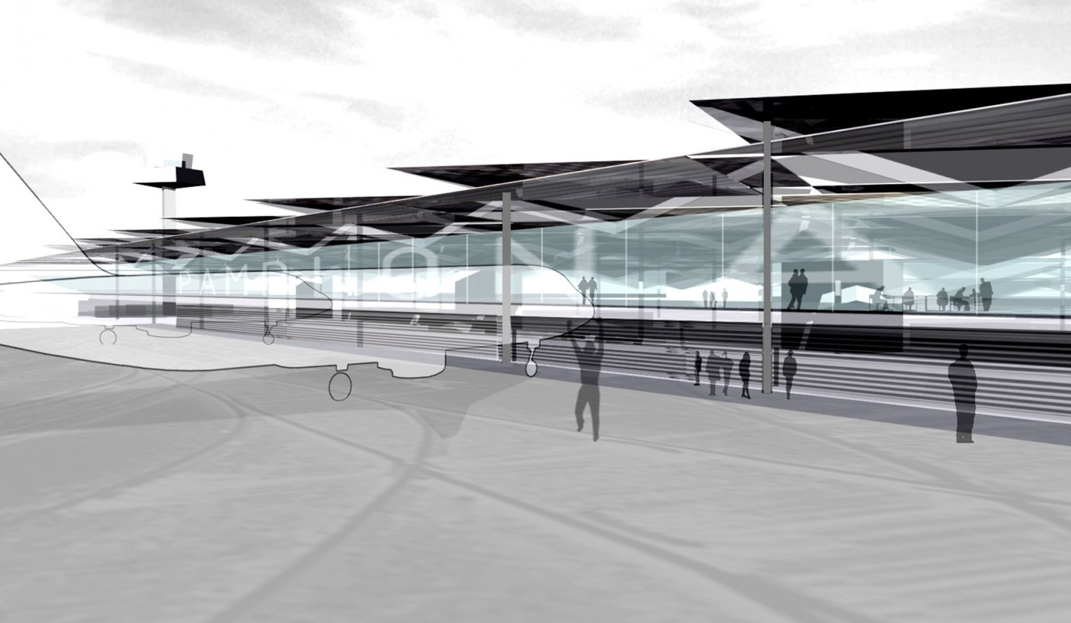 Pamplona Airport New Terminal