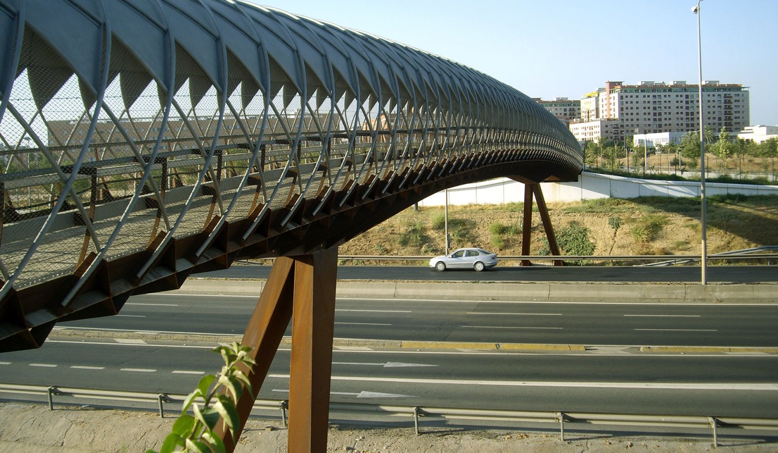 Bridge over Highway SE-30 – Palmas Altas Campus
